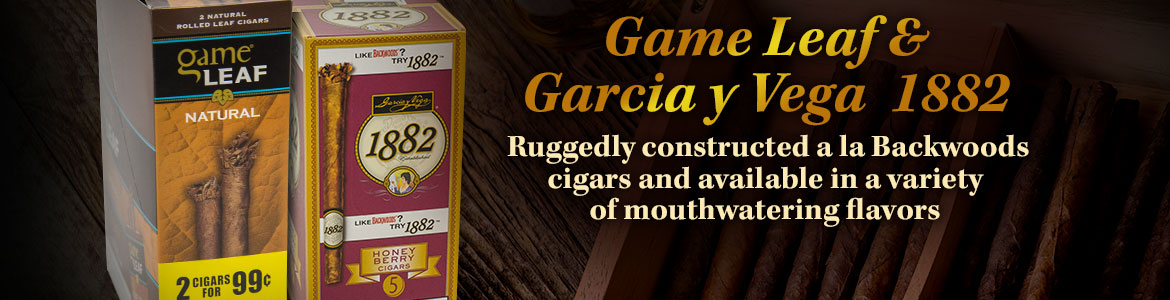 Game Leaf and Garcia y Vega 1882