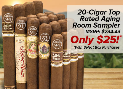 20 Cigars for 25 Bucks!