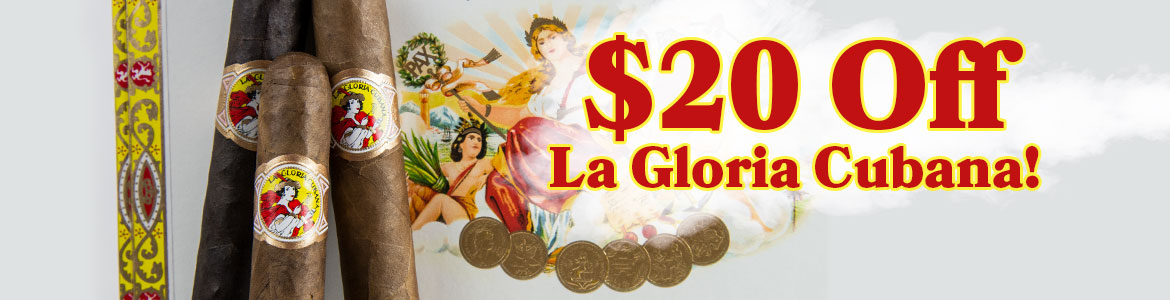 $20 Off La Gloria Cubana