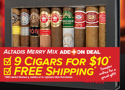 Altadis Add On Deal + Free Shipping