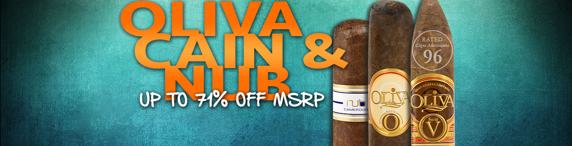 Oliva, Nub, and Cain Cigars - Up To 71% Off