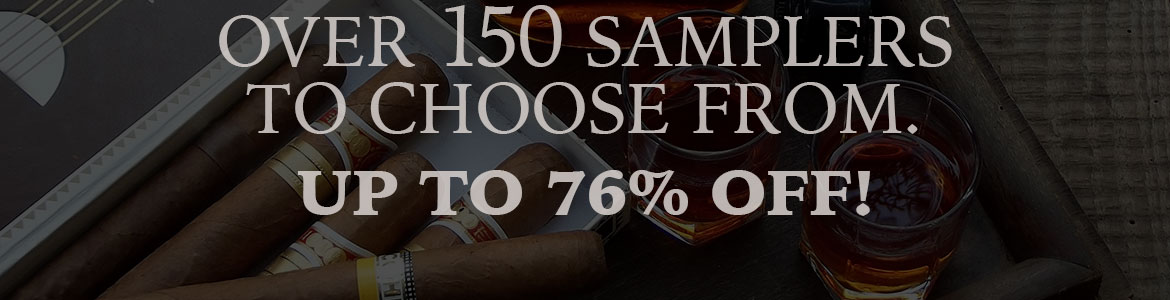 Up To 76% Off Big Brand Cigar Samplers