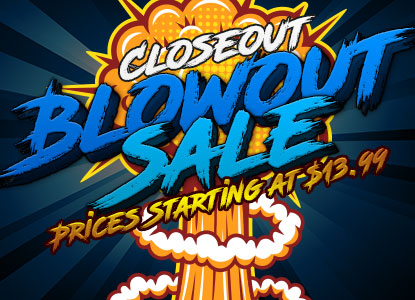 Closeout Blowout - Top Brands Up To 80% Off!