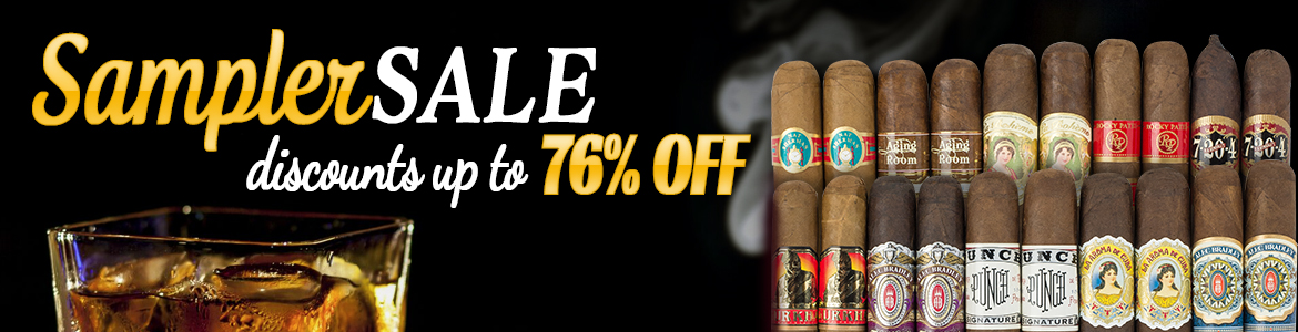 Samplers For The People - Cigar Assortments Starting @ $7.99