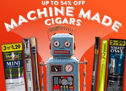 Major Discounts On Machine Mades -  Up To 54% Off!