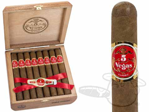 5 Vegas Classic Double Corona Box - 25 Total Cigars