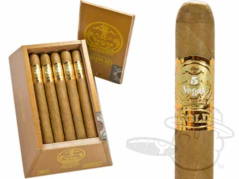 5 Vegas Gold Churchill Box - 20 Total Cigars