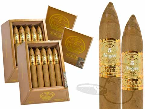 5 VEGAS GOLD TORPEDO 2X Deal 2X Deal of 40