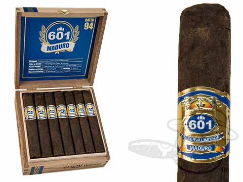 601 Blue Label Robusto Maduro