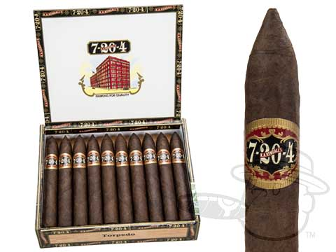7-20-4 Torpedo  Box - 20 Total Cigars