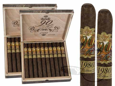 90 Miles 1980 Edition Churchill 2 Box Deal 2-Fer - 40 Cigars Cigars