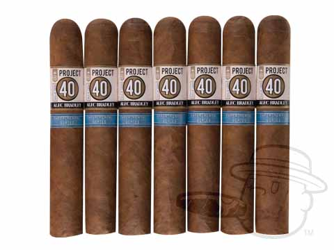 Alec Bradley Project 40 Robusto 7 Cigar Sampler Sealed Pack - 7 Total Cigars