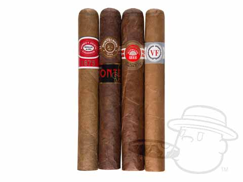 Altadis Dominican Assortment Sealed Pack - 4 Total Cigars