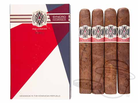 AVO Syncro Nicaragua Toro Sealed Pack - 4 Total Cigars