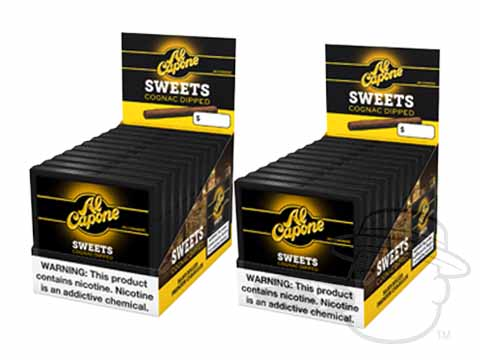 Al Capone Sweets Cognac Unfiltered 2X Deal - 200 Total Cigars
