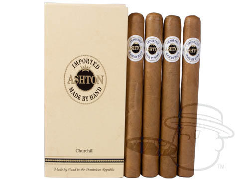 Ashton Classic Churchill Sealed Pack - 4 Total Cigars