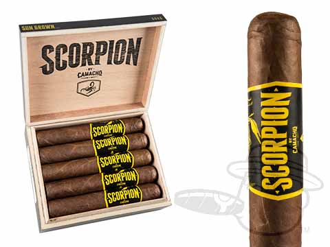 Camacho Scorpion Sungrown Gordo Box - 10 Total Cigars