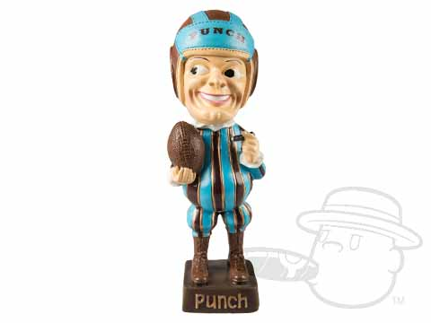 Limited Edition Punch Football Bobblehead