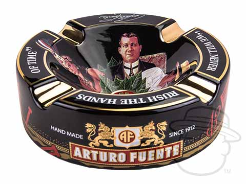 Arturo Fuente Journey Through Time Black Ashtray