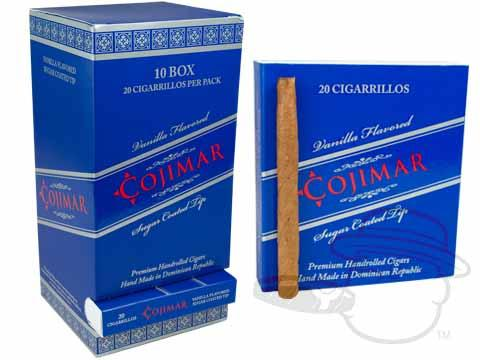 Cojimar Cigarillos - Vanilla Flavored Sugar Tipped
