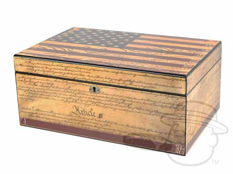 Constitution 100 Count Humidor by Humidor Supreme