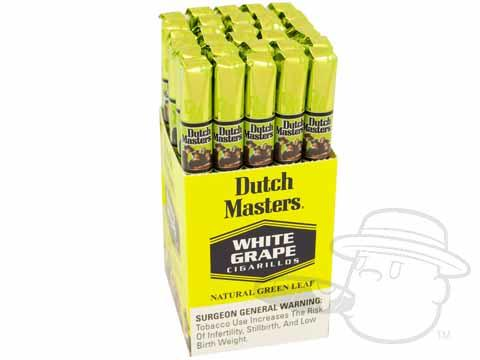 Dutch Masters Cigarillos White Grape Upright