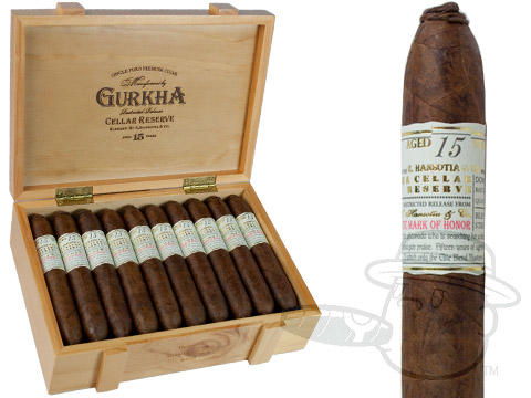 Gurkha Cellar Reserve 15 Year Hedonism Grand Rothchild Box - 20 Total Cigars
