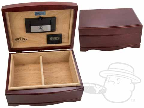 American Series Washington 110 Count Humidor by Diamond Crown