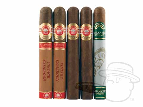 H. Upmann 5 Cigar Sampler Sealed Pack - 5 Total Cigars