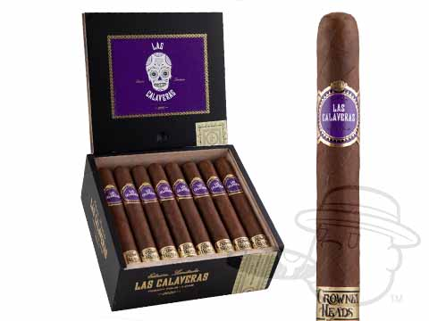 Las Calaveras El 2020 5 1/2 X 48 Box - 24 Total Cigars