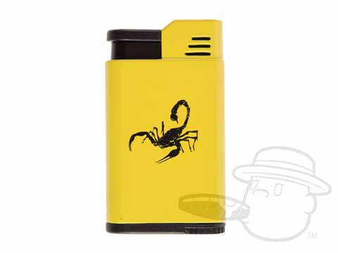 Camacho Scorpino Single Flame Lighter - Yellow N/A - N/A Total Cigars