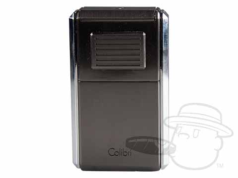 Colibri Astoria Triple Jet Lighter & Cutter - Gunmetal & Chrome