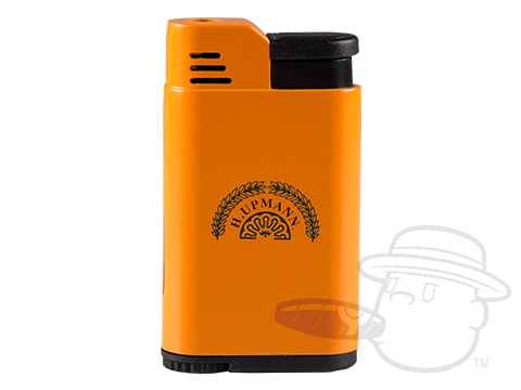 H. Upmann Single Flame Torch Lighter - Orange