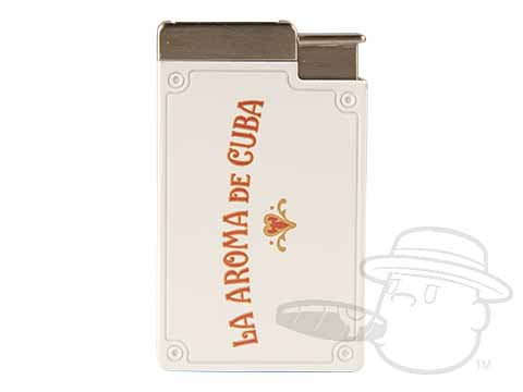 La Aroma de Cuba Double Torch White Lighter N/A of N/A