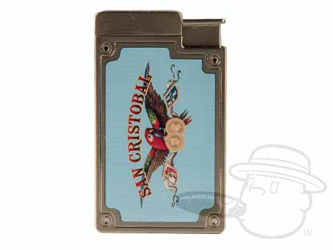 San Cristobal Blue Double Torch Lighter