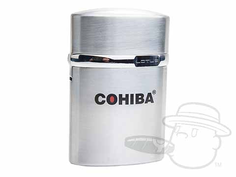 Lotus T3 Table Top Cohiba Lighter - Silver