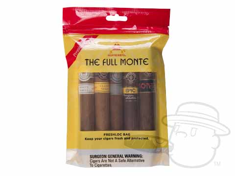 Montecristo Full Monte Fresh-Loc Sampler Sealed Pack - 5 Total Cigars