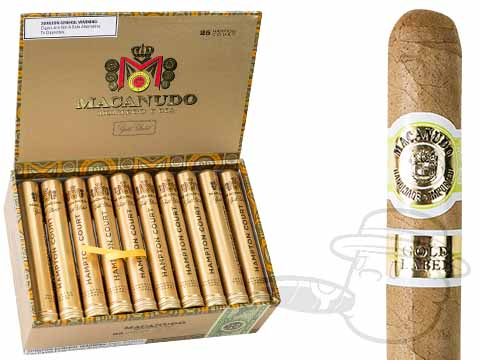 Macanudo Gold Label Hampton Court Box - 25 Total Cigars