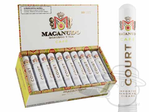Macanudo Court Cafe Tube Box - 30 Total Cigars