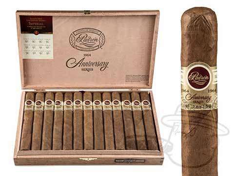 Padron Anniversario Serie 1964 Imperiales Natural Box of 25