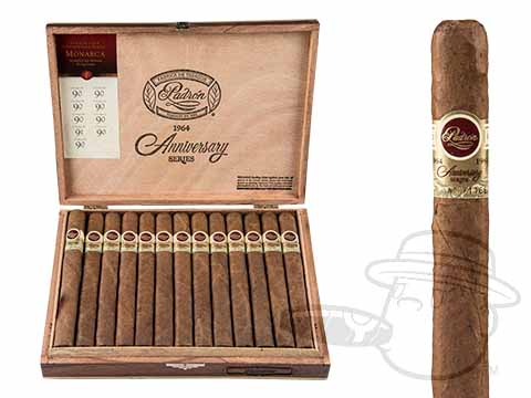 Padron Anniversario Serie 1964 Monarca Natural Box - 25 Total Cigars