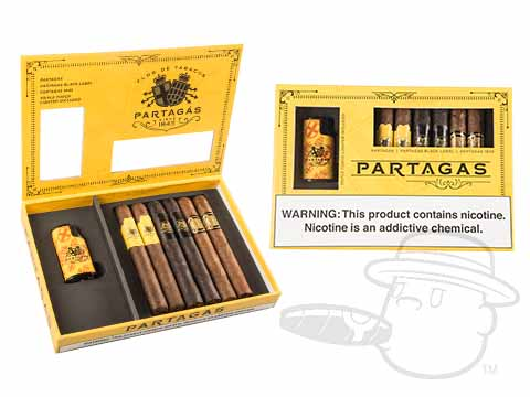Partagas Collection 2018 With Lighter