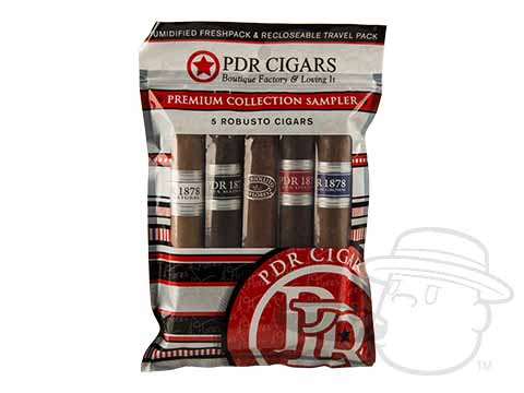 PDR 5 Cigar Fresh Pack Robusto Sampler