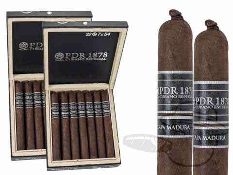 PDR 1878 Cubano Especial Churchill Madura 2 Box Deal 2-Fer - 40 Cigars Cigars