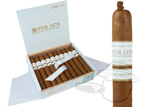 PDR 1878 Cubano Especial Churchill Natural