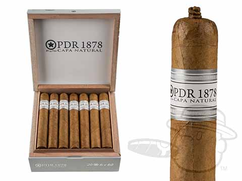 PDR 1878 Cubano Especial Double Magnum Natural Box - 20 Total Cigars