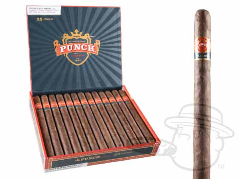 Punch President Maduro Box - 25 Total Cigars