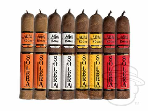 Solera Festivo Sampler by Aging Room 8 Cigars