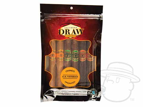 Southern Draw Quickdraw 6 Cigar Sampler Sealed Pack - 6 Total Cigars