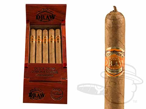 Southern Draw Quickdraw Connecticut Corona Gorda Box - 25 Total Cigars